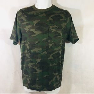 Outdoor Life Men's River Washed Tee Camouflage Sm